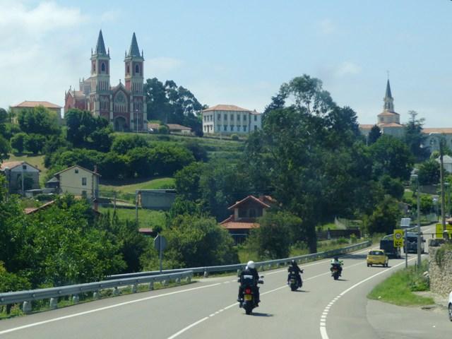 Lovely scenery en route