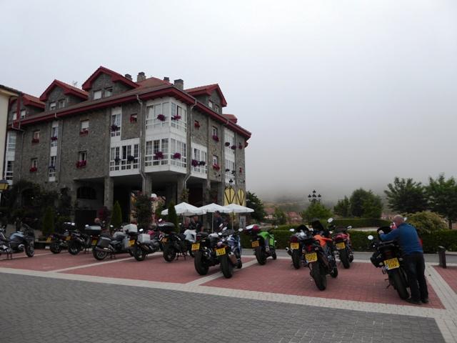 A misty start to day 2