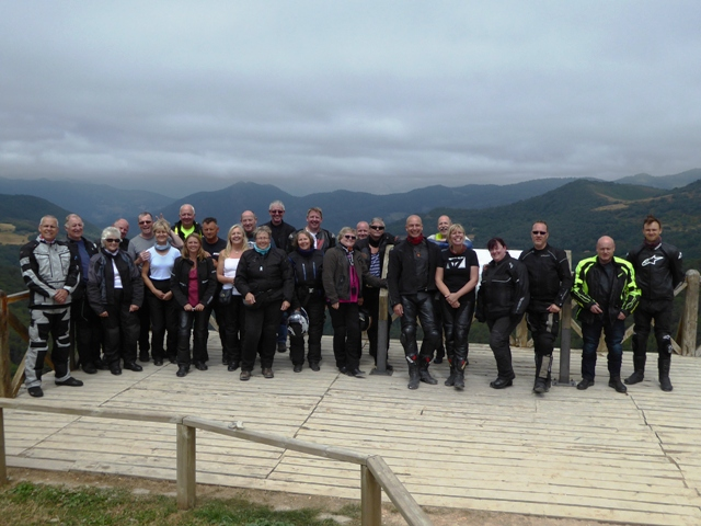 Fab roads, fab weather and a fab group - what more do you want for a fab biking holiday!