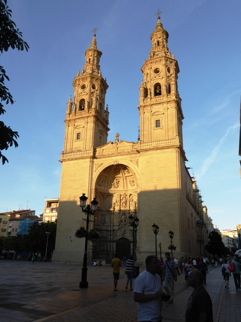 Cathedral in Logrono