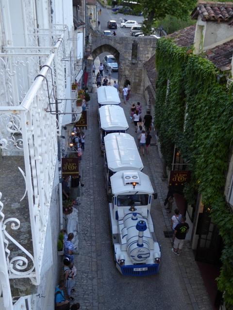The quaint tourist train