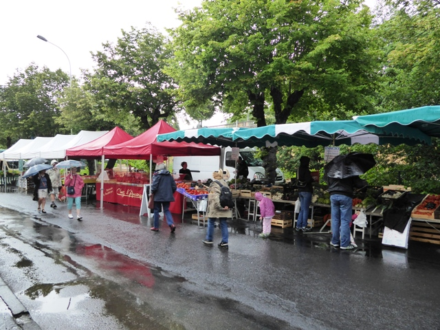 Local morning market