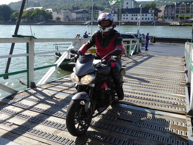 John (Jen pillion) on our Street Triple R