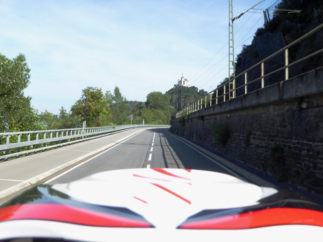 A pillion's view