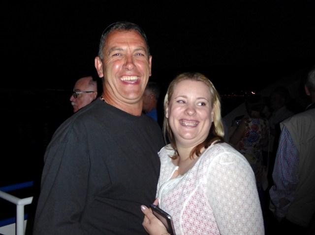 John with Tana