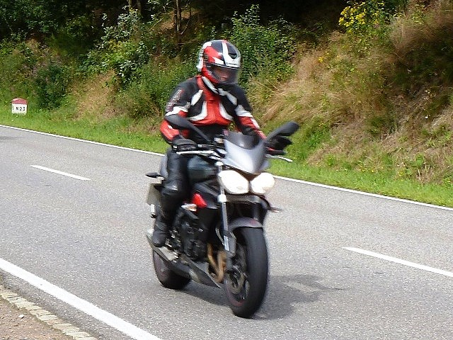 Jen leads on our Street Triple R