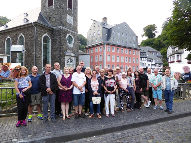 Yet again a real highlight of our year - the group in Monschau on our last night