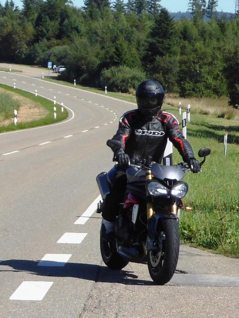 Jamie - Triumph Speed Triple R