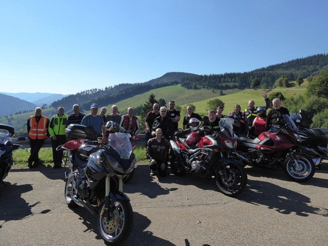 The group as we leave the Black Forest