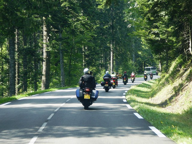 Heading into the Vosges Mountains