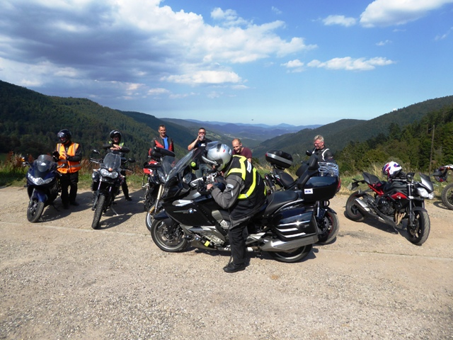 In the Vosges we want a Triumph photo...