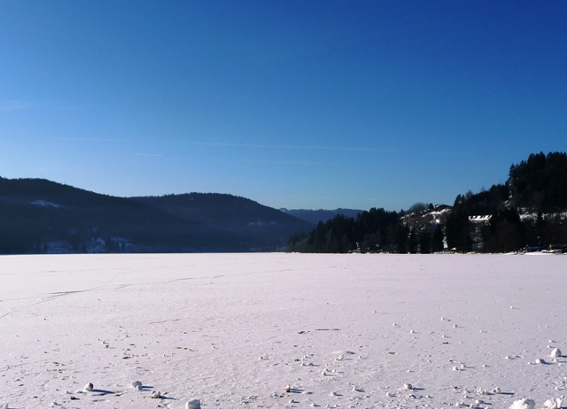 For those that wanted to see the lake completely frozen when we did our research in January 2011