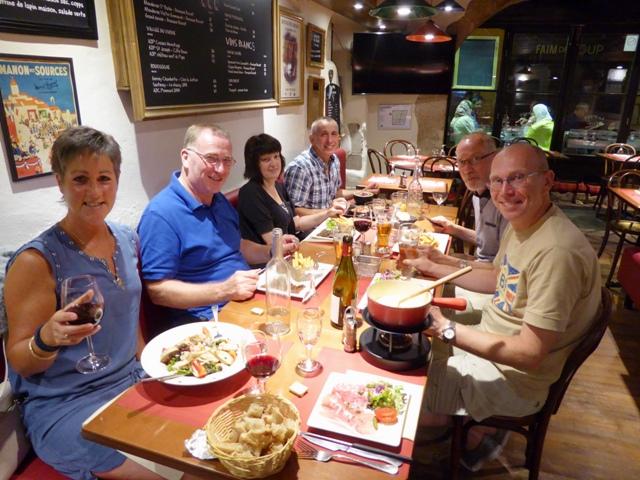Some of us dine together