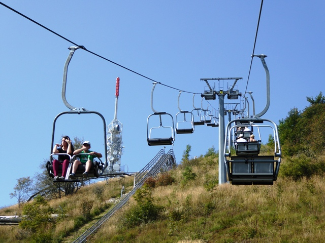 Then take the chair lift