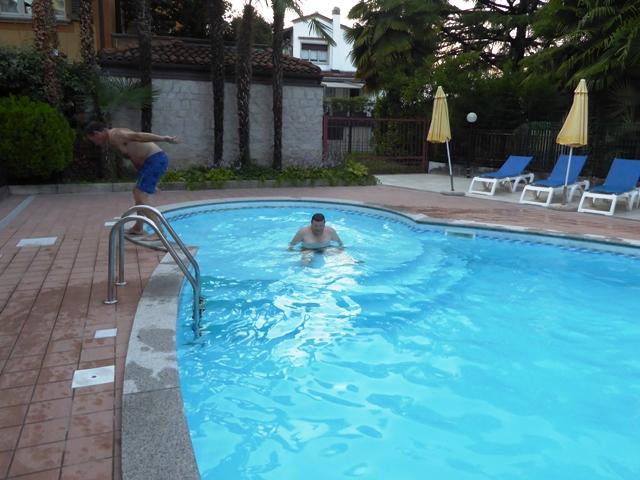 Aerobics in the pool