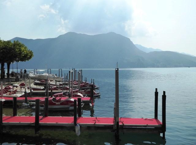 Coffee on Lake Lugano