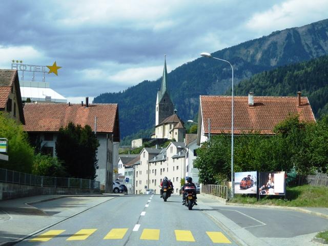 Ride through pretty villages