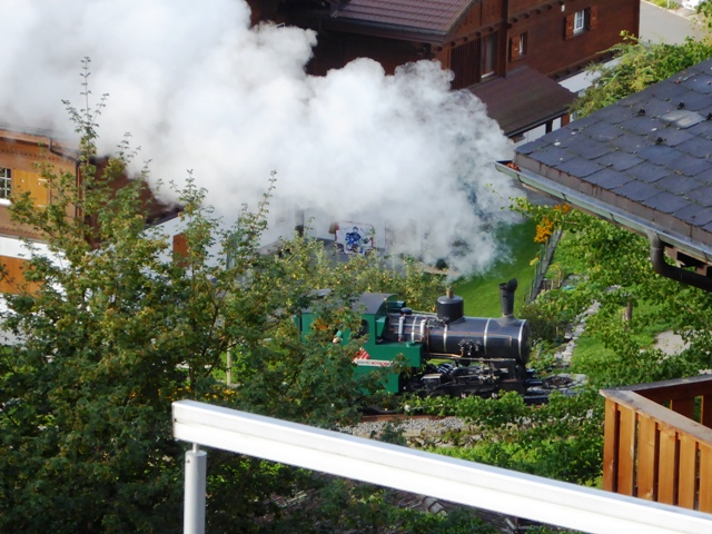 A day off - take the steam train