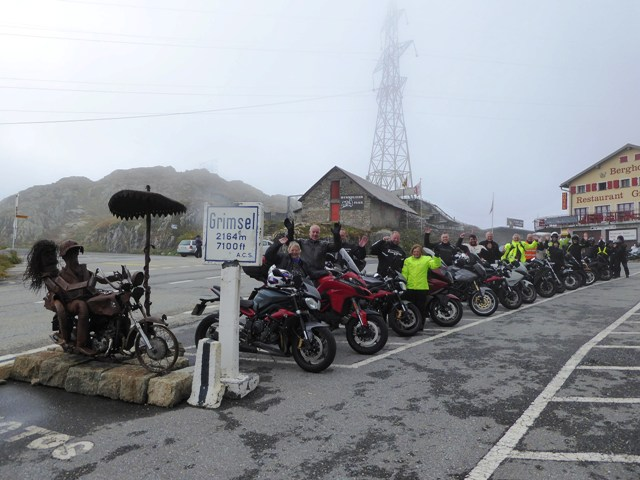 On top of the Grimsel Pass