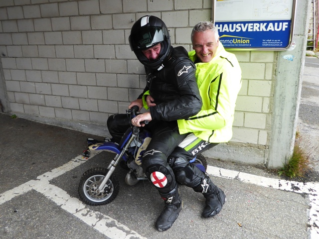 Paul & Dave have found their next bike !