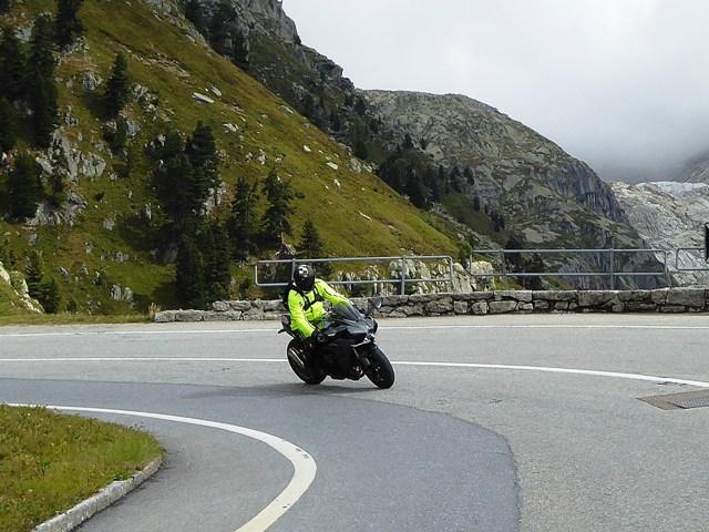 Dave on his Kawasaki H2