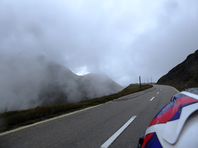 We ride the Furka Pass