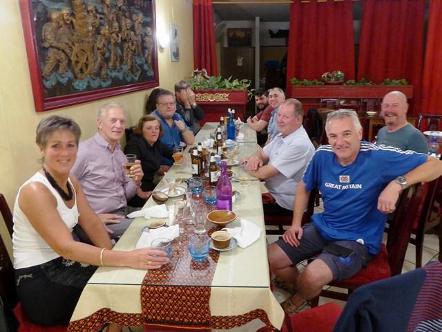 A free night - we dine Thai