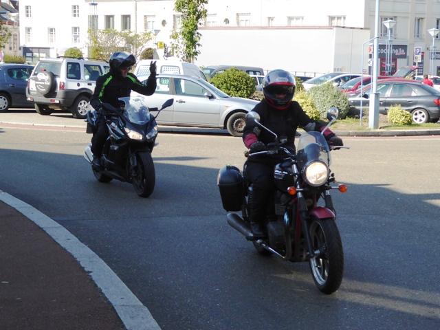 Wendy - Bonneville, Steve - Kawasaki Z1000SX