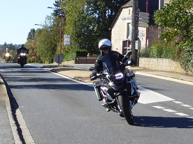 Gordon oh is BMW 1200GS