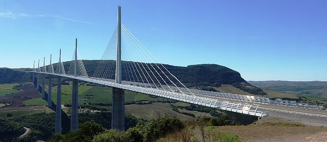 Our next stop - the Millau Bridge