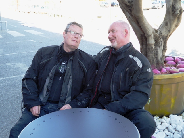 "Dave & Gordon on the""Love Seat""!!"