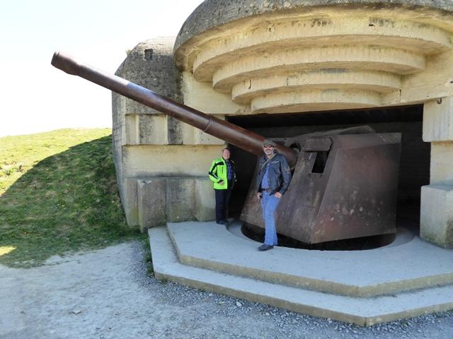 We then visit the Gun Batteries