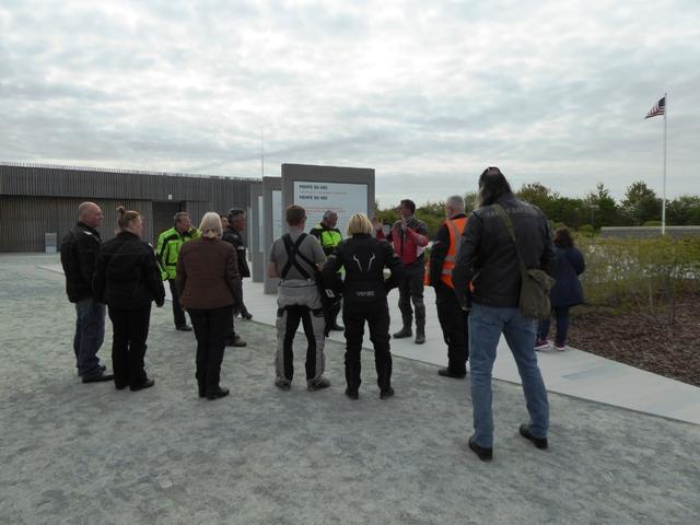 We then visit the Pointe de Hoc