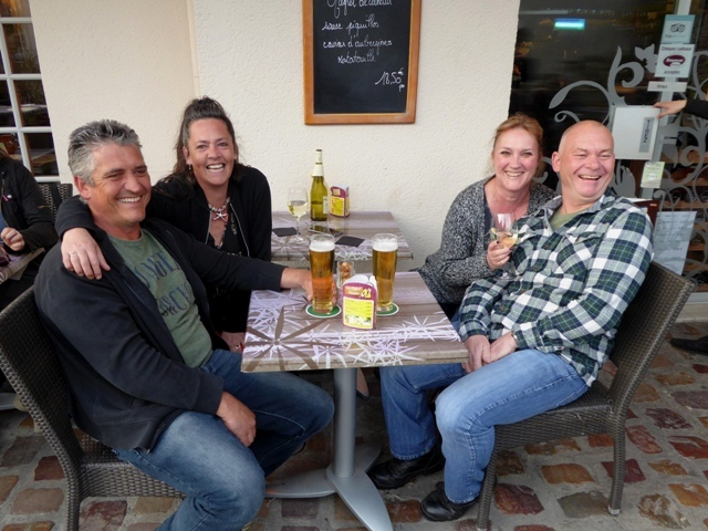 Sheldon & Elaine with Josie & Gavin - the Cornish Pasties!