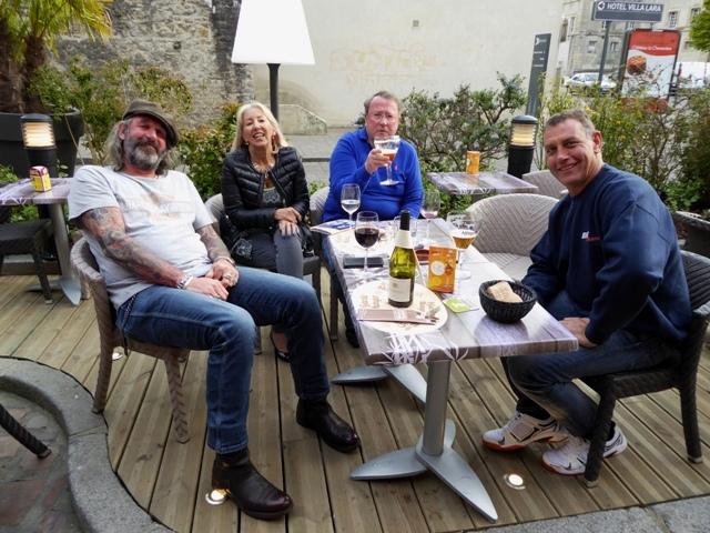Keith, Anne & Steve, John