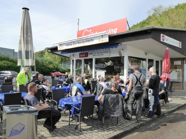 Coffee at the Nurburgring