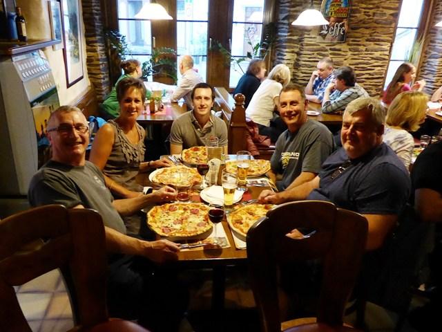 Enormous pizzas!