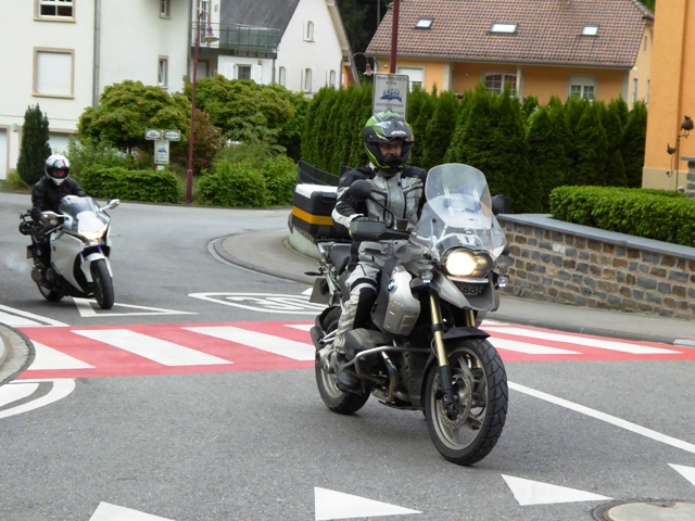 David on his BMW R1200GS