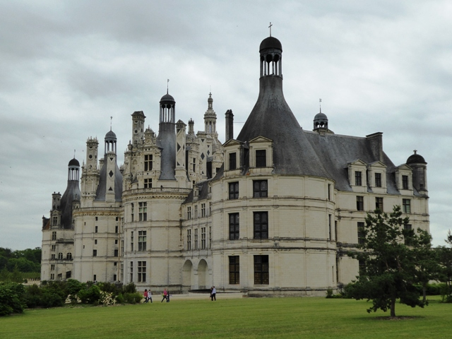 The first Chateau is Chambord
