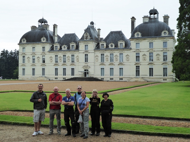The second Chateau is at Cheverny