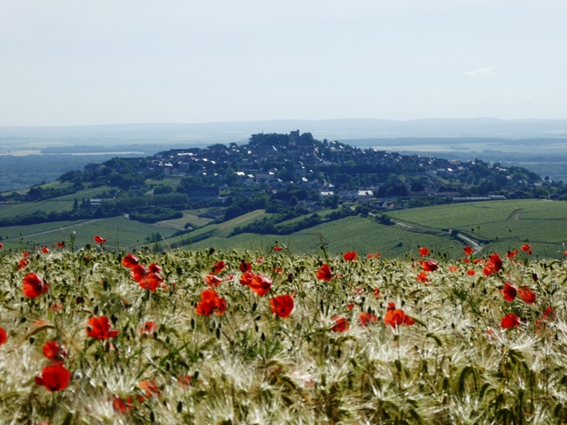 The superb setting of Sancerre