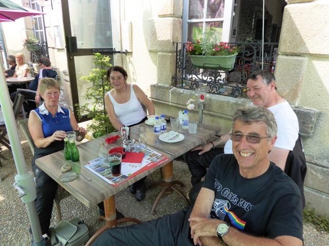 Nicky & Marc with Karen & Steve