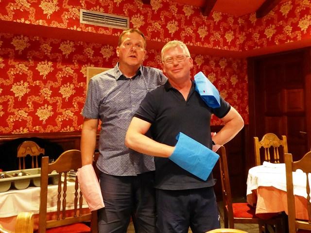 Peter & Phil take a turn!!!