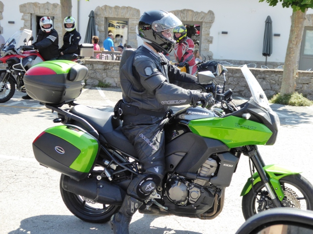 Ian H on his Versys 1000