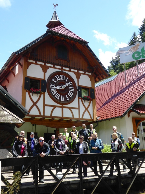 We visit the largest cuckoo clock in the world