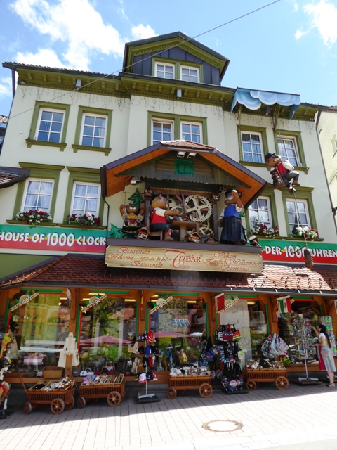 Loads of cuckoo clock shops