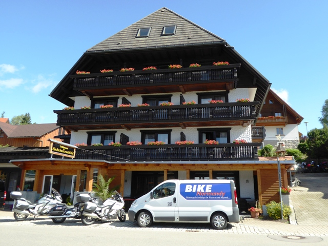 Our hotel for two nights in the Black Forest