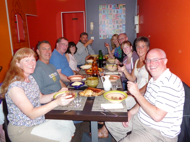 A free night - some of us choose Tagine