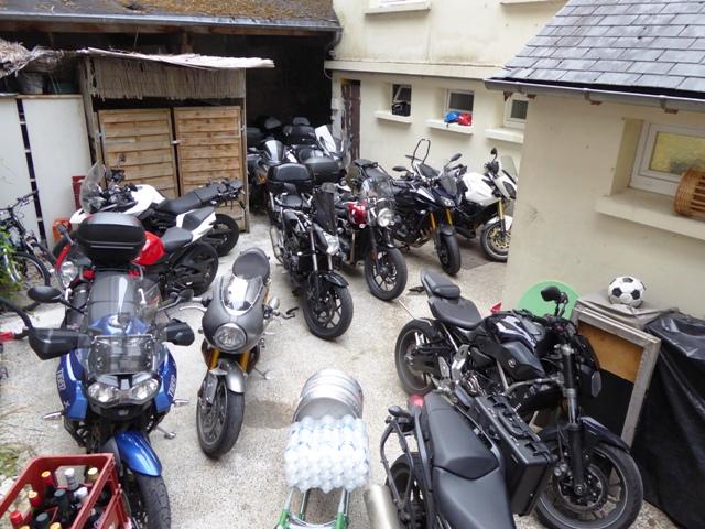 Secure garage parking