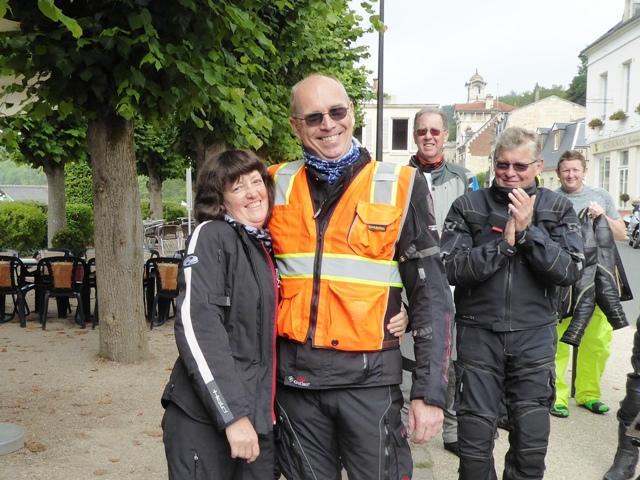 John thanks Martin & Denise our back-markers